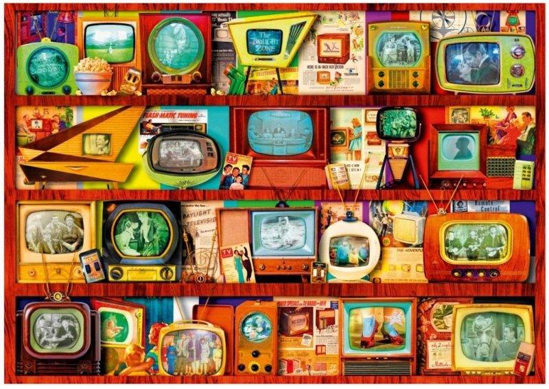 Puzzle 1000 Złoty wiek TV Aimee Stewart