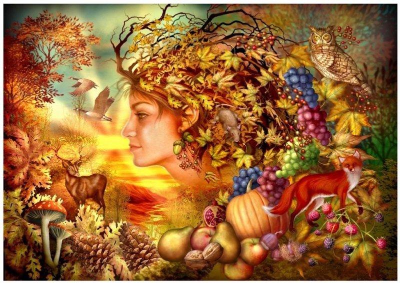 Puzzle 1000 Duch jesieni Ciro Marchetti