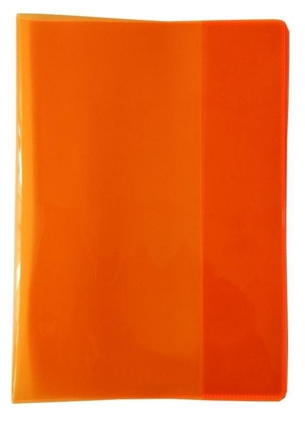 Okładka na zeszyt A5 PVC Neon pomarańcz (5szt)