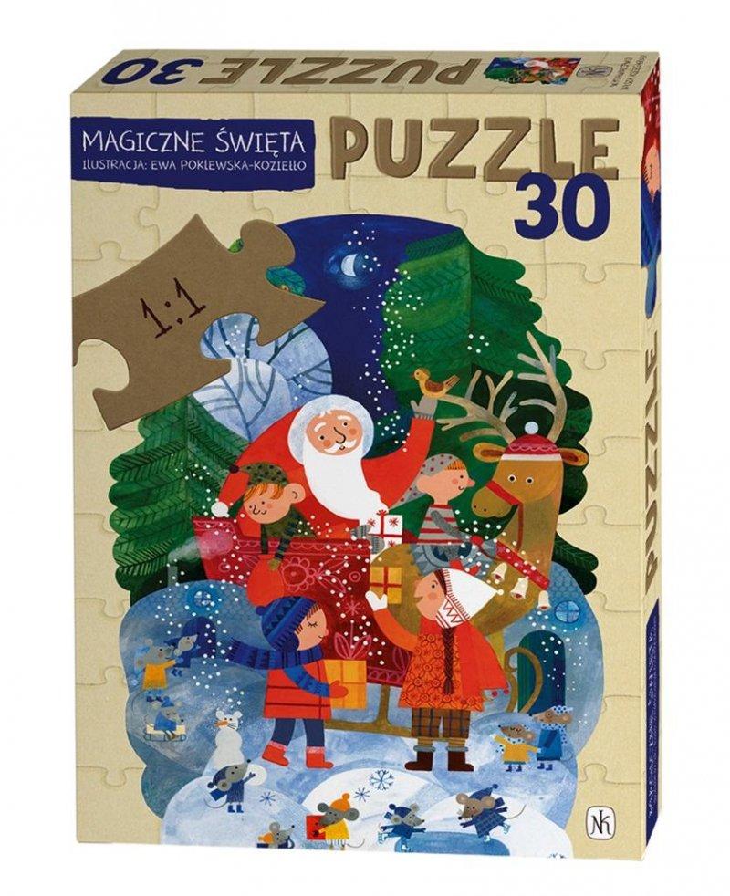 Puzzle - Magiczne święta