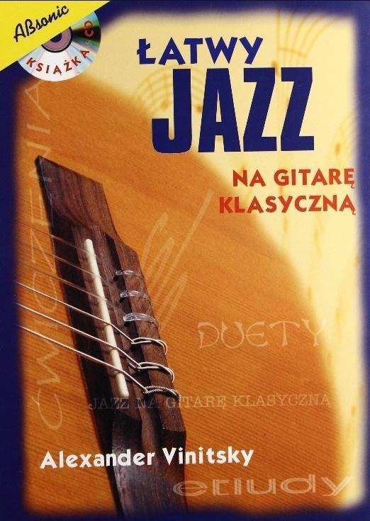 Łatwy jazz na gitarę klasyczną + CD