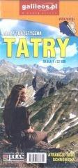 Mapa - Tatry 2021