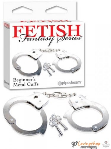 Kajdanki-FF BEGINNER METAL CUFFS