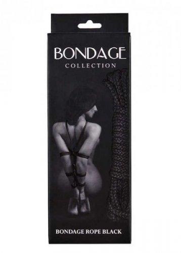 Wiązania-Rope Bondage Collection Black 9м