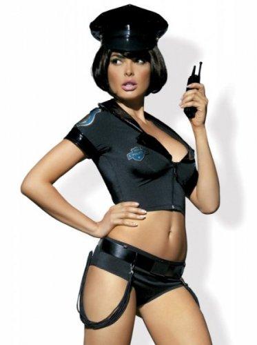 Bielizna-Police set kostium  S/M