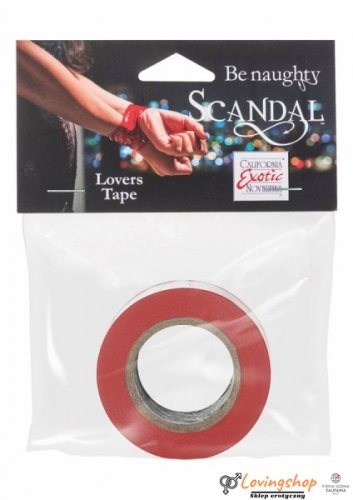 Wiązania-SCANDAL LOVERS TAPE RED