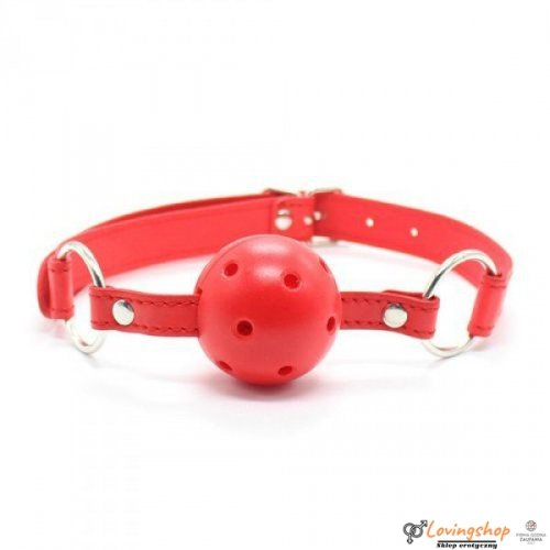 Knebel-Breathable Ball Gag (rosso)