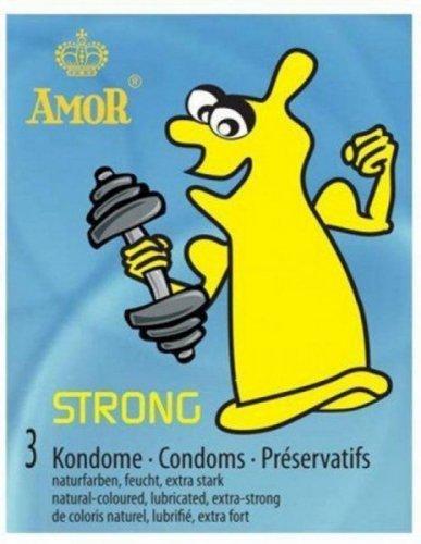 Prezerwatywy-Amor STRONG 3pcs