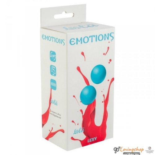Vaginal balls without a loop Emotions Lexy Medium turquoise