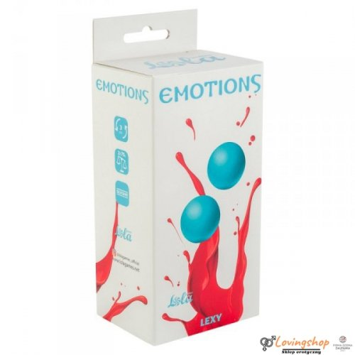 Vaginal balls without a loop Emotions Lexy Large turquoise