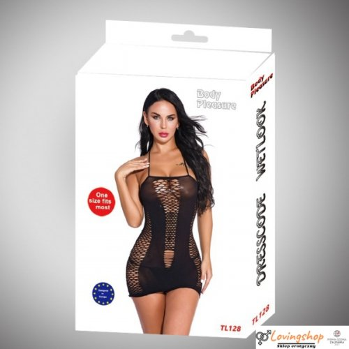 Body Pleasure - Sexy Lingerie Set - one size - black TL128