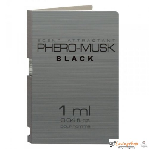 Feromony-PHERO-MUSK BLACK 1 ml