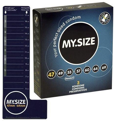 Prezerwatywy 47 mm 3 szt. My.Size