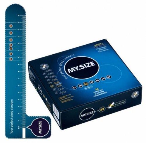 Prezerwatywy 53 mm 36 szt. My.Size