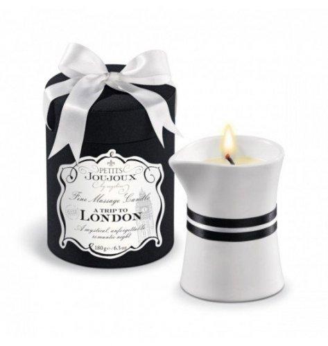 Petits Joujoux Fine Massage Candles - A trip to London (190 g)