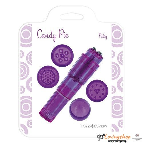 Stymulator-MULTI STIMULATOR PURPLE PULSY