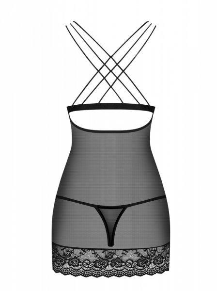 Bielizna-854-CHE-1 koszulka i stringi L/XL