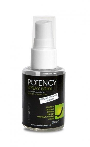 POTENCY Spray 50ml - Wzmacnia erekcję