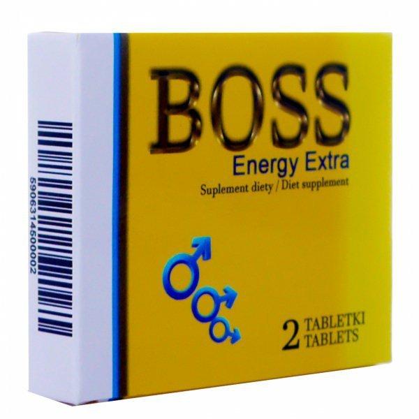 2TAB Boss Enery EXTRA potężna moc erekcja potencja