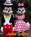 Maskotki reklamowe - Miki & Minnie Silver Karnival