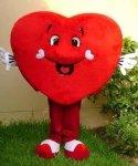 Strój reklamowy - Serce VII