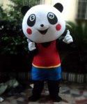 Strój chodzącej maskotki - Miś Panda 4