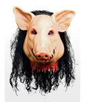 Maska lateksowa - Świnia z filmu Piła