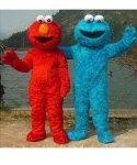 Chodzące maskotki - Elmo & Ciasteczkowy Potwór