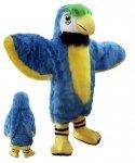 Strój chodzącej maskotki - Papuga Deluxe