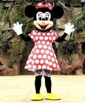 Chodząca maskotka - Myszka Minnie Classic