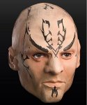 Maska lateksowa - Star Trek Nero
