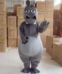 Chodząca maskotka - Hipopotam II