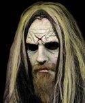 Maska lateksowa z peruką - Rob Zombie