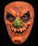 Maska lateksowa na twarz - Halloween Dynia