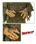 Lateksowe rękawice - Dłonie Jason Voorhees