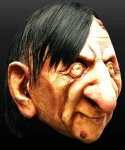 Maska lateksowa - Staruszek Alfred