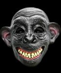 Maska lateksowa - Uśmiechnięta Małpa