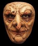 Maska lateksowa na twarz - Czarownica