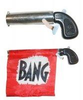 Akcesoria klauna - Pistolet z flagą