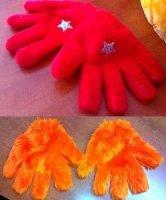 Rękawice chodzącej maskotki (1 para)