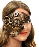 Maska - Steampunk Cyborg