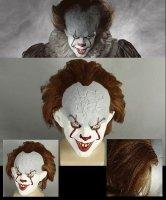 Maska lateksowa - 2017 Stephen King's IT Horror Clown