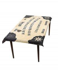 Dekoracja na Halloween - Obrus Tablica Ouija 195x115 cm