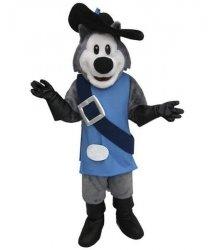 Strój chodzącej maskotki - Pies Muszkieter