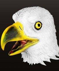 Maska lateksowa - Orzeł