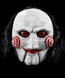 Maska lateksowa - SAW Billy Puppet