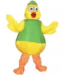 Strój chodzącej maskotki - Kurczak Wielkanocny 6