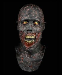 Maska lateksowa - The Walking Dead Zombie VII