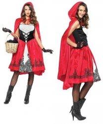 Kostium Karnawałowy - Czerwony Kapturek