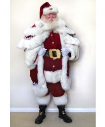 Profesjonalny strój Świętego Mikołaja - Św. Mikołaj Premium X